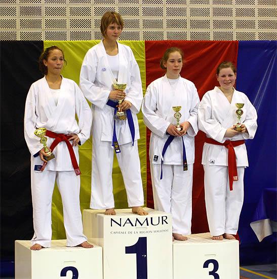 Vice-Championne de Belgique